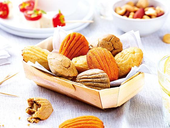 Apéritifs - Mini madeleines apéritives
