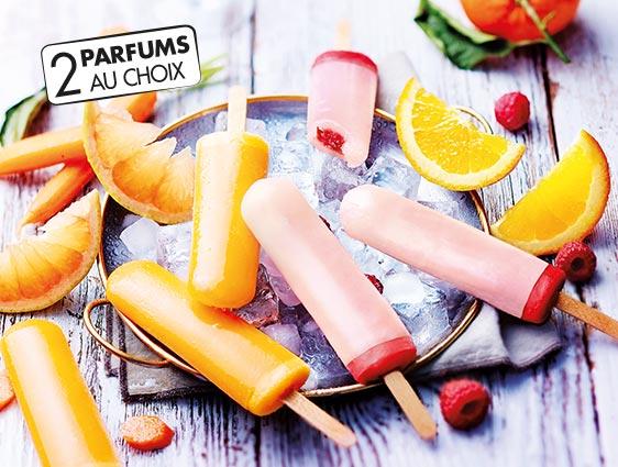 Bâtonnet glacé - Royal Plein Fruit framboise-pamplemousse rose