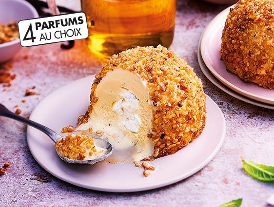 Desserts glacés individuels - Exquis au coeur de meringue