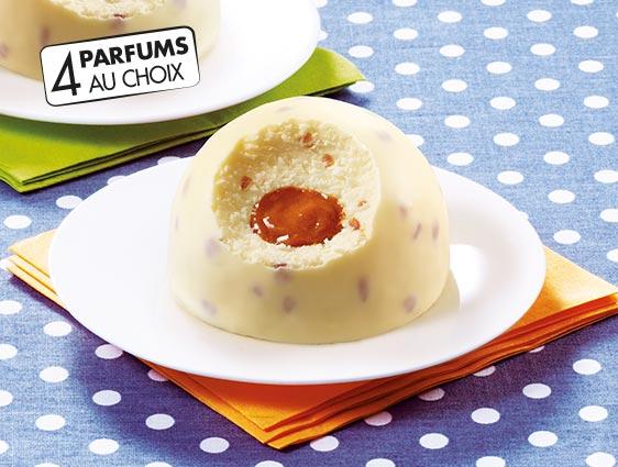 Desserts glacés individuels - Exquis Façon crème brûlée