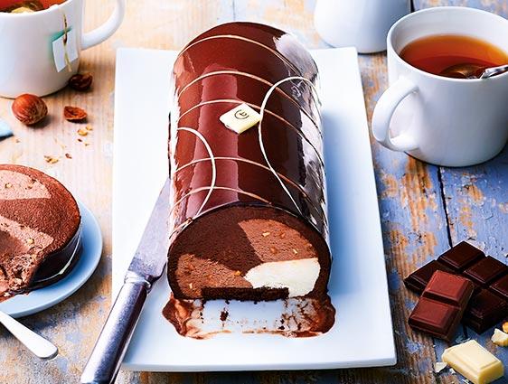 Desserts glacés à partager - Délice 3 chocolats