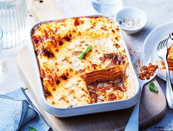 Plats à partager - Lasagnes à la bolognaise