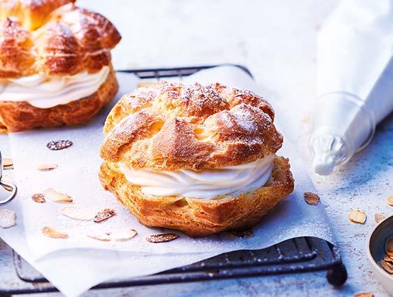 Pâtisseries individuelles - Choux à la crème