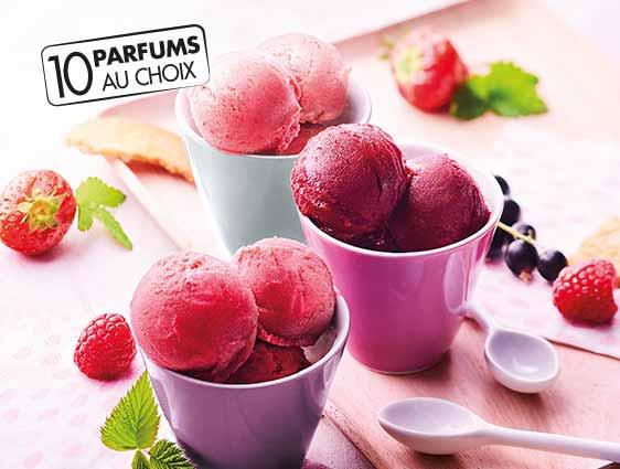 Crèmes glacées et sorbets Thiriet en promotion