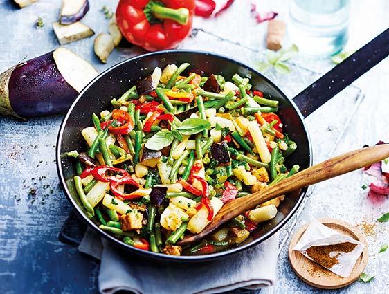 Légumes cuisinés - Poélée méridionale