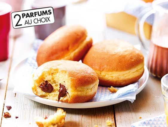 Beignets et donuts - Beignets fourrés parfum chocolat noisette