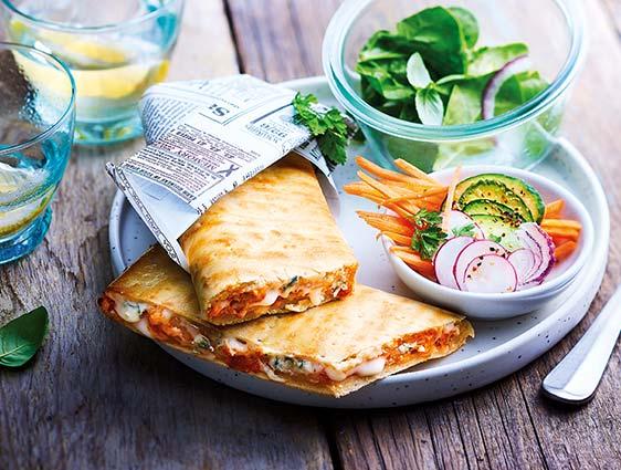 Pizza surgelés Thiriet - Pizza sandwich 3 fromages