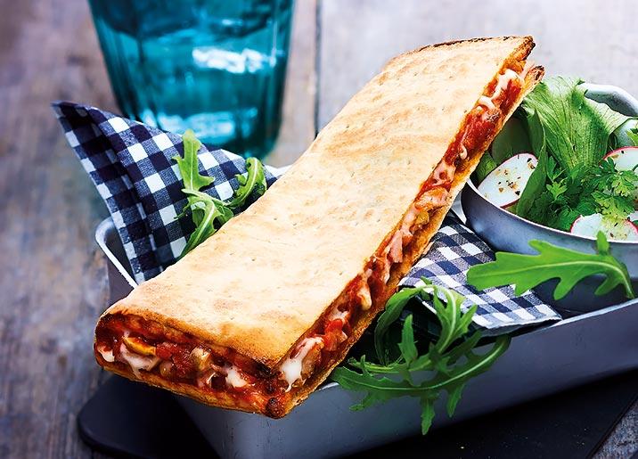 2 Pizzas sandwich au choix !