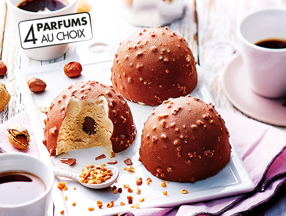 Dessert glacés en promotion Thiriet - Exquis Façon rocher