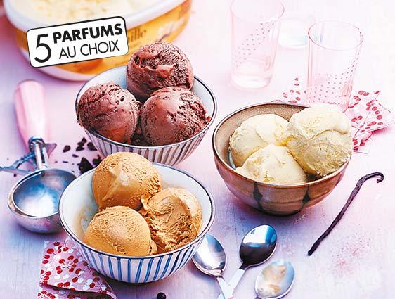 Crème glacée Thiriet en promotion café