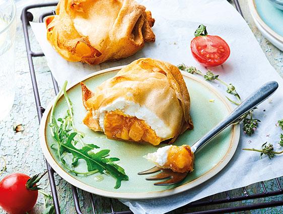Entrées Thiriet en promotion - Croustillants Sainte Maure-pommes caramélisées
