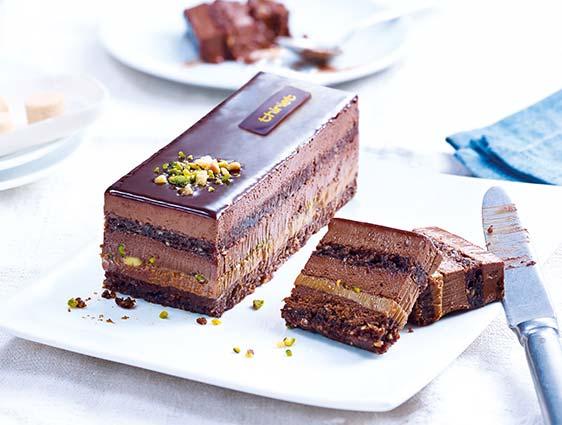 Pâtisseries à partager - Délice du pâtissier chocolat-caramel
