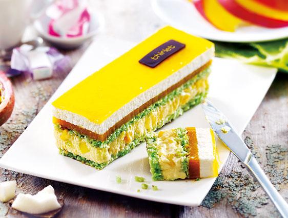 Pâtisseries à partager Thiriet en promotion - Délice du pâtissier coco-mangue-passion