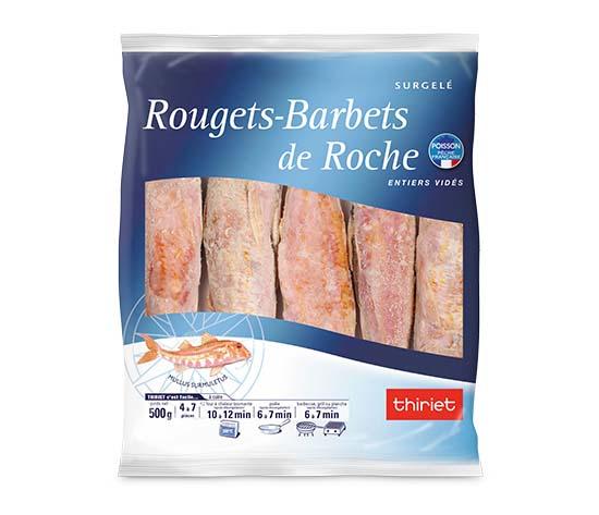 Rougets-barbets de Roche entiers vidés