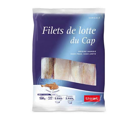 Filets de lotte du Cap