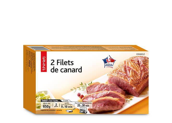2 Filets de canard