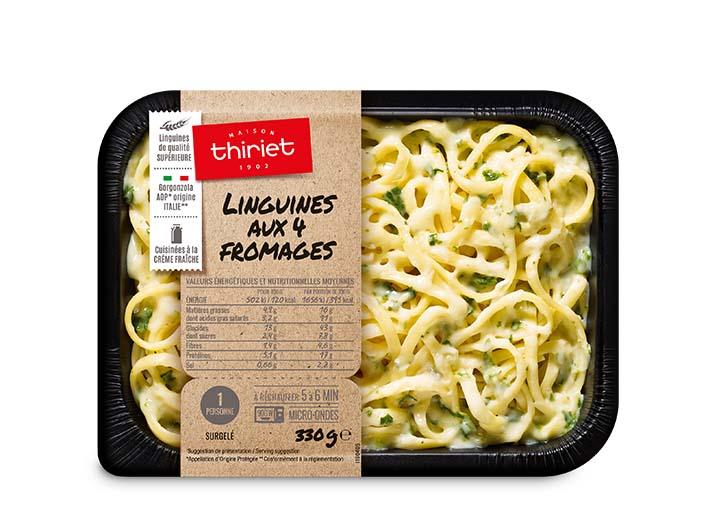 Linguines aux 4 fromages