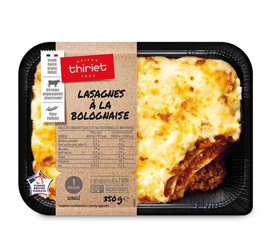 Les 3 lasagnes bolognaises