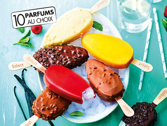 Glaces et desserts glacés - Select Chocolat cookies