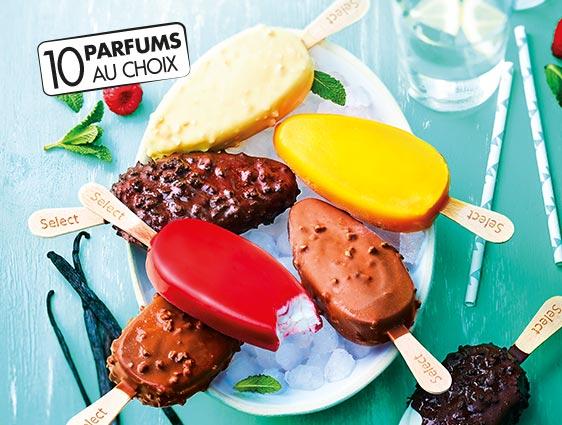 Glaces et desserts glacés - Select Vanille Fruits exotiques