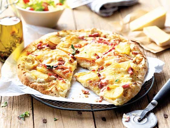 Entrées - Pizza façon tartiflette