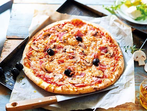 Entrées - Pizza royale