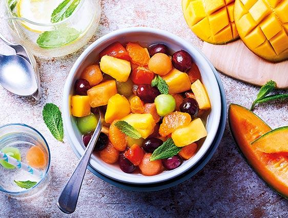 Fruits - Salade de fruits exotiques