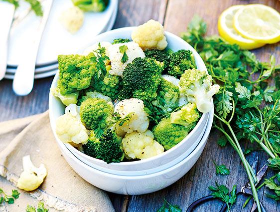 Légumes bruts - Lot de 2 Trio fleurette