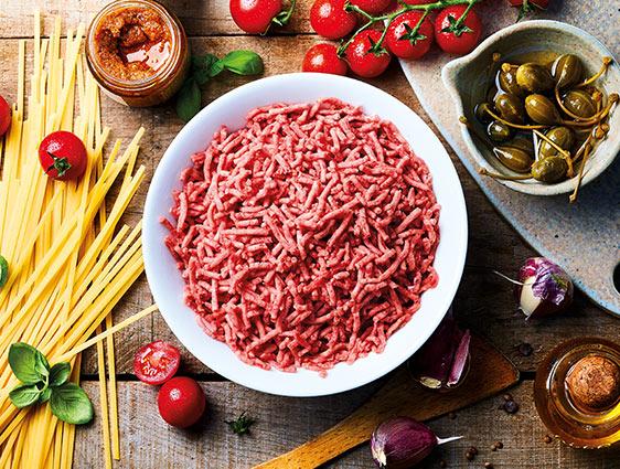 Viande bovine - Viande hachée égrainée pur bœuf 15% M.G.