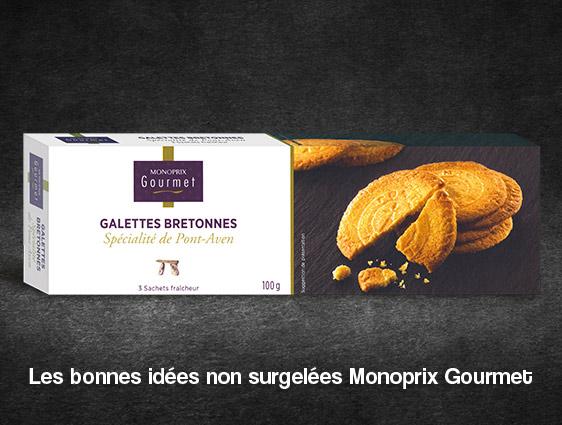 Galettes à garnir - six Galettes bretonnes de blé noir