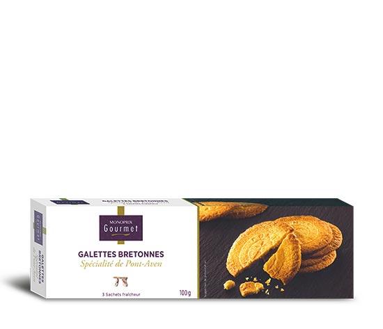 Galettes Bretonnes spécialités de Pont-Aven