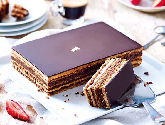 Desserts pâtissiers - Opéra