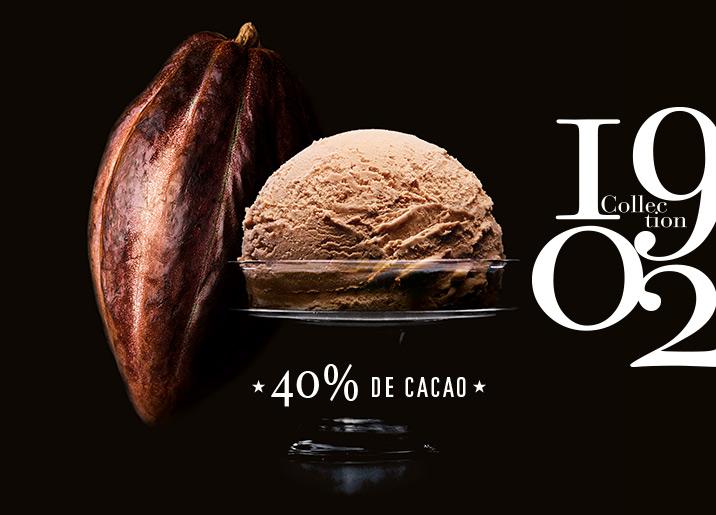 Crème glacée Chocolat au Lait du Ghana Collection 1902