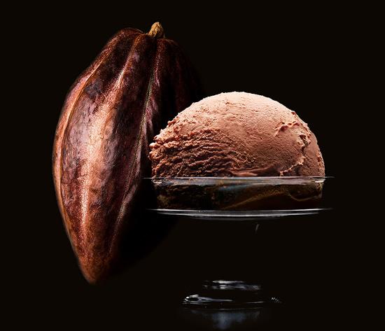 Crème glacée Chocolat Noir de Cuba 70% cacao