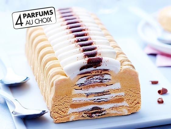 Desserts glacés à partager - Passionata vanille caramel Thiriet