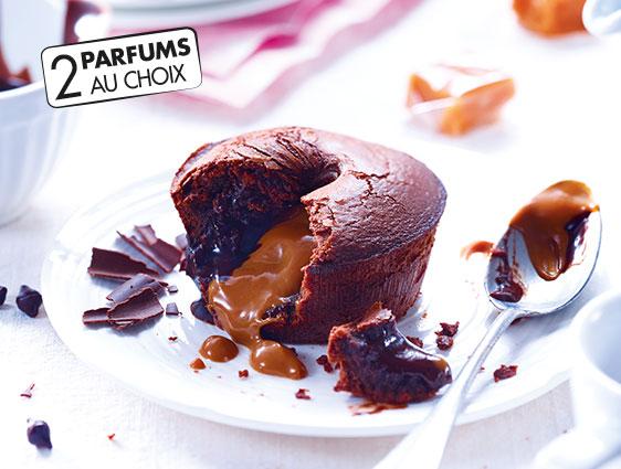 Pâtisseries - Moelleux au chocolat caramel salé