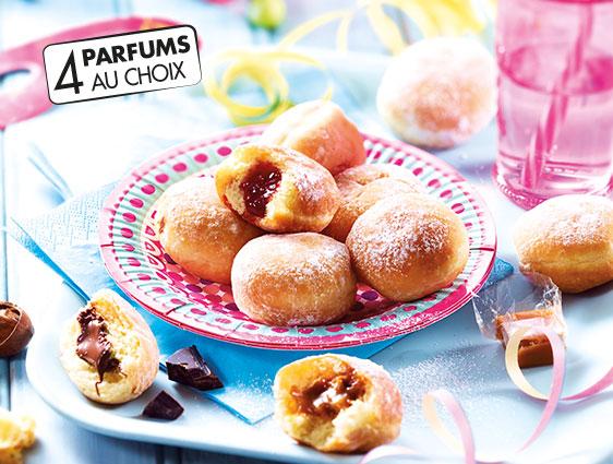 Viennoiseries - Mini beignets fourrés caramel