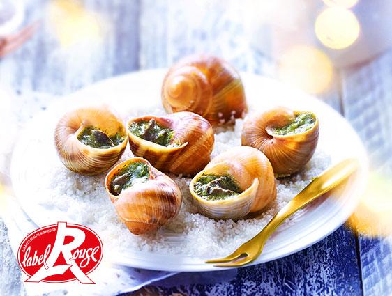Préférences alimentaires - Escargots de Bourgogne Label Rouge