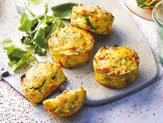Pommes de terre Légumes Fruits - Mini gratins de légumes