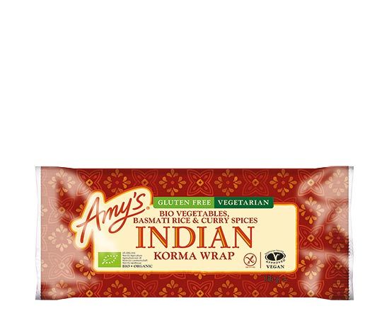 Wrap indien sans gluten biologique