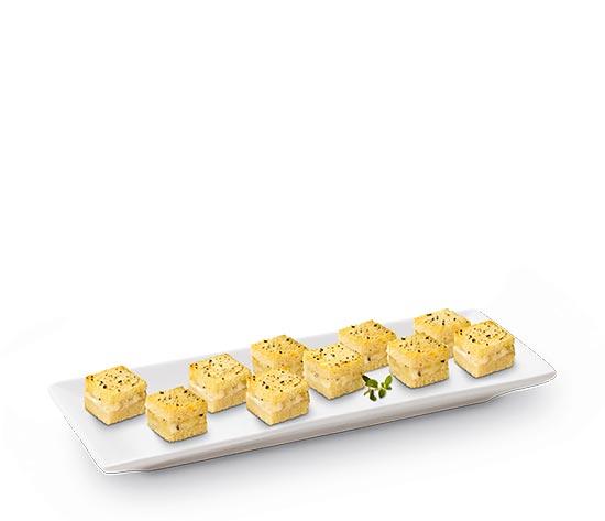 12 Mini croques au comté et truffe blanche d'été