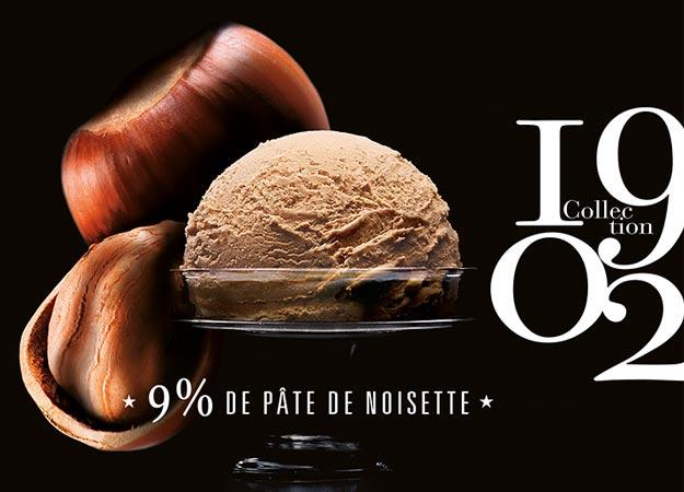 Crème glacée Noisette du Piémont - IGP*