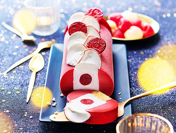 Desserts glacés - Instant Fruités™ framboise-litchi façon chantilly