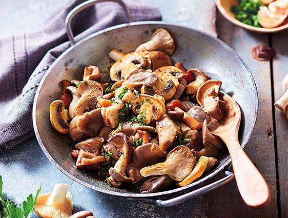 Légumes bruts - Cocktail de champignons