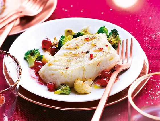 Poissons cuisinés - Cœurs de filets de cabillaud sauce provençale