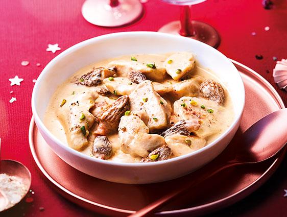 Volaille - Poulet jaune sauce chablis