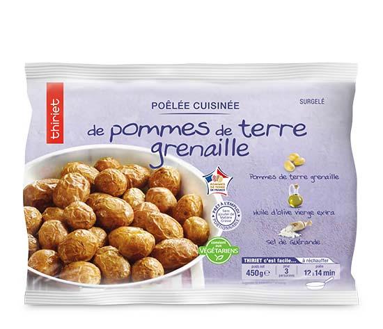 Poêlée cuisinée de pommes de terre grenaille