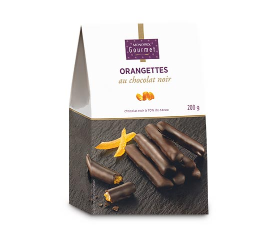 Orangettes chocolat noir