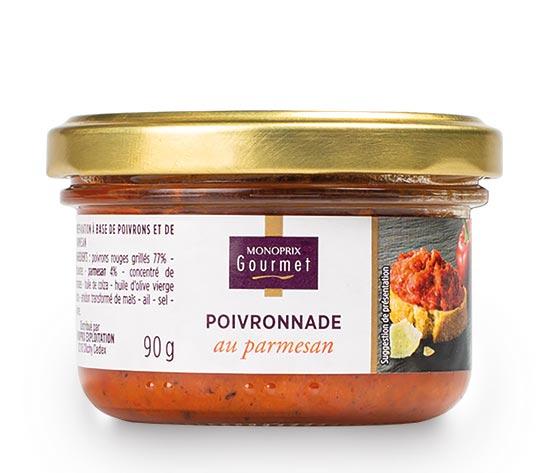 Poivronnade au parmesan