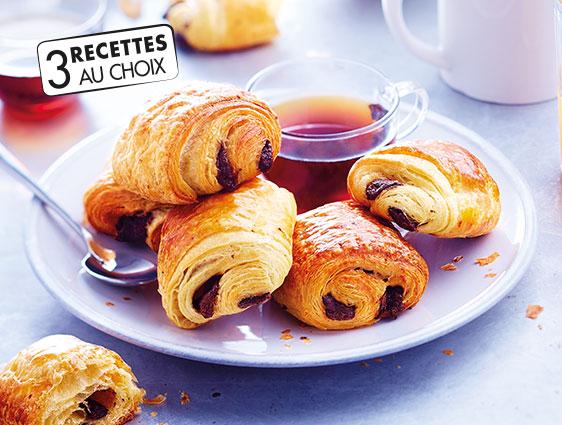 Viennoiseries - Mini pains au chocolat pur beurre maxi format